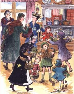 Mary Shepard - illustrator of the Mary Poppins books