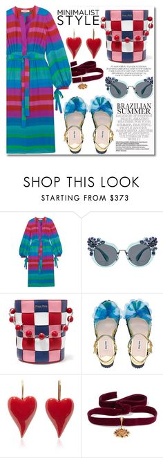 """Untitled #526"" by zhris ❤ liked on Polyvore featuring Etro, Miu Miu and Diego Percossi Papi"