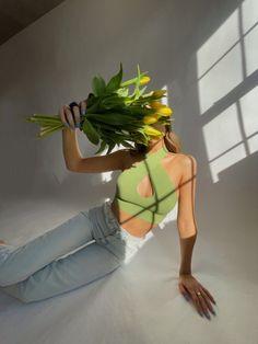 #bouquet #aestheticoutfits #haltertop #greenaesthetic #cottagecore #parisian
