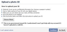 Facebook asking locked out users to provide Government ID - well if that ever happens it is time TO CLOSE FACEBOOK ACCOUNT... there is just NO NEED for them to have a government ID and they claim that uploaded documents will be deleted... we already have to worry about ID THEFT!!!