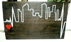 arquitetura  placa em madeira piba puppet