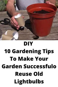 Popular Paintings, Gardening Tips, Flower Pots, Life Hacks, Coffin Nail, Make It Yourself, Fails, How To Make, Diy