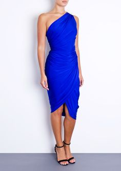 KAYDEN - Electric Blue Dress