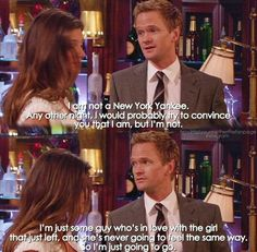 Barney💕💕 Series Movies, Tv Series, Barney And Robin, How Met Your Mother, Yellow Umbrella, Himym, Challenge Accepted, Hey Girl, Romantic Quotes