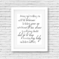 Hey, I found this really awesome Etsy listing at https://www.etsy.com/listing/251013245/babies-dont-keep-quote-printable-print
