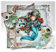 Skin: E000, E00, E21, E11, E04, R20 Hair: Y21, YR23, E15, E18, BG000, BG01, BG05, BG09 Tail: Blue BG000, BG01, BG05, BG09 Green G000, G00, BG13, BG49, BG78 Fishes: Y38, YR14, YR18, E18