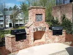 Image result for backyard brick oven ideas
