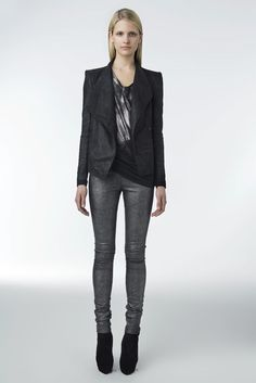 Helmut Lang Resort 2010 Fashion Show - Tabea Koebach