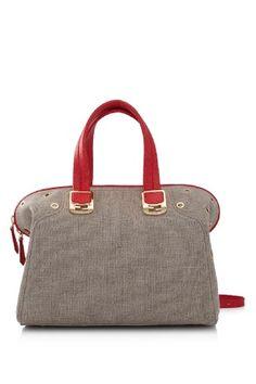 Fendi Chameleon Linen Duffle Bag