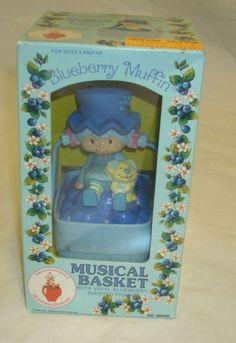 Strawberry Shortcake Blueberry Muffin Music Box