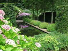Wollerton Old Hall Garden, Shropshire.