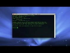 How to Erase your hard drive from the Mac OS X terminal « Operating Systems :: WonderHowTo