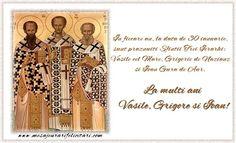 În fiecare an, la data de 30 ianuarie, sunt praznuiti Sfintii Trei Ierarhi:  Vasile cel Mare, Grigorie de Nazianz si Ioan Gura de Aur. Aur
