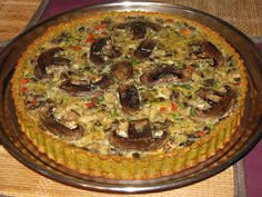 WISH COME TRUE: Tarta cu ciuperci Romanian Food, Wish Come True, Quiche, Breakfast, Desserts, Pie, Morning Coffee, Tailgate Desserts, Deserts