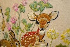 deer detail by qtips photo, via Flickr