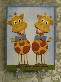 Baby Giraffe Twins!