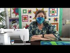 How to make an easy face mask that's washable and reusable with spare fabric - Quilting & Sewing Ideas - Missouri Star Quilt Tutorials, Quilting Tutorials, Quilting Ideas, Easy Face Masks, Diy Face Mask, Star Quilt Patterns, Pocket Pattern, Diy Mask, Youtube