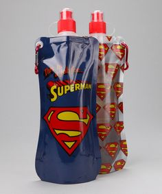 Take a look at this Superman 20-Oz. Hydration Bottle - Set of Two by Shark Skinzz on #zulily today!
