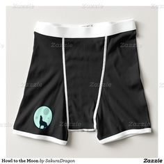 Howl to the Moon Boxer Brief #wolf #wolves #animals #moon #howl