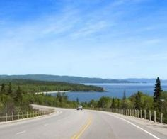 If you really want to see it in most of its wonderful glory then you need to go on a Canada road-trip. Places Around The World, Around The Worlds, Trans Canada Highway, Sault Ste Marie, Side Road, East Coast Road Trip, Newfoundland And Labrador, Quebec City, Cheap Travel