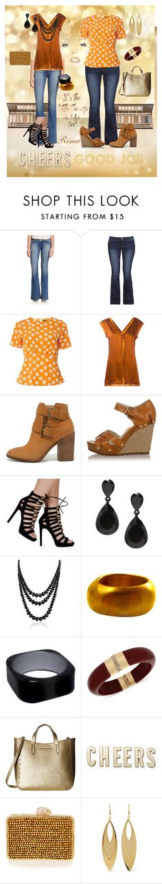 """""""My Style..,"""" by rima1205 ❤ liked on Polyvore featuring Hudson, Dorothy Perkins, STELLA McCARTNEY, Steve Madden, Michael Kors, Bling Jewelry, Chen Fuchs Jewelry, INC International Concepts, Tommy Hilfiger and Kate Spade"""