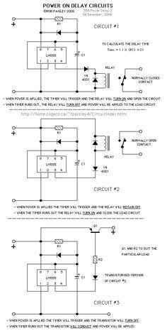 555 timer delay circuits Check more at http://blog.blackboxs.ru/category/cooking/