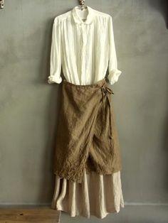 Layered linen