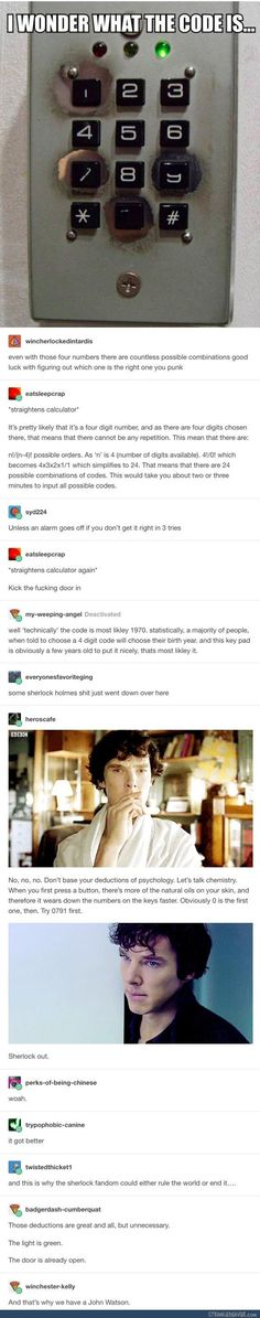 I get this is a Sherlock tracked Tumblr post, but I can only think of Yoonbum breaking into Sangwoo's home...