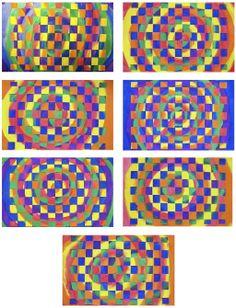 paper weaving | The Rolling Artroom: Warm/Cool Paper Weaving 1st-3rd Grade