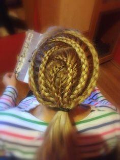 Braid. Hairstyle by Kata