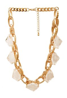 Dazzling Chain-Link Necklace | FOREVER21 #Accessories