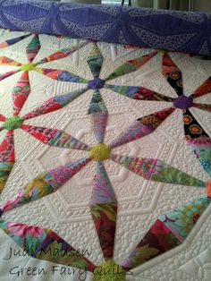 Green Fairy Quilts: What I am working on now.