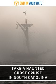Listen to spooky stories and perhaps spot a ghost on this unique Charleston, South Carolina cruise. Hear tales of the paranormal, pirates, and more on this haunted boat tour. Scary Places, Haunted Places, Places To Travel, Travel Destinations, Places To Visit, Spooky Stories, Ghost Ship, Hidden Beach, Sun Sets