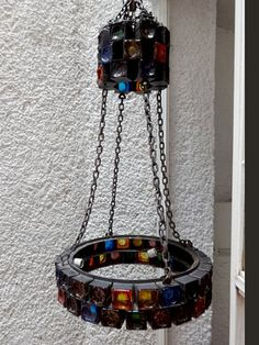 Mexican Modernist Handblown Glass Chandelier by FEDERS   AMBIANIC ...