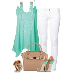 """""""Pure Mint"""" by stylecrushh on Polyvore"""
