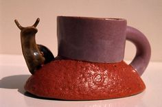 Snail Cup by Ken Price, 1968.
