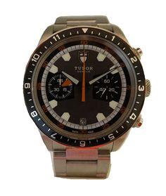 Tudor Heritage Stainless Steel Chronograph Grey Dial Gents Automatic Sapphire…