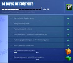 Fortnite Season 6 Week 8 Challenges Fortnite Fortnitebattleroyale