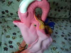 Elefante Rosa do Delírio  #pinkelephant #elefanterosa #delirio #rosa #elefante #arteemgesso #minhaarte #erikamarcon ##elephant