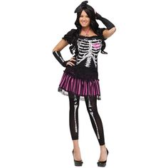 Sally Skelly Adult Md Lg 10-14