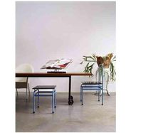 Donghia table by Joe D'Urso.  Discontinued?