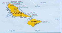 Wallis And Futuna Capital Mata Utu Life - Wallis and futuna map