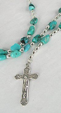 Navajo Turquoise Rosary