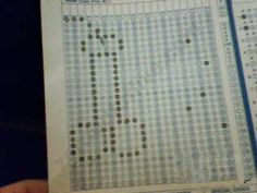 19 Best Scantron art images in 2018 | Kids test answers