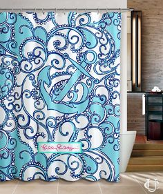 Anchor Lilly Pulitzer Lilly New Hot Custom Shower Curtain
