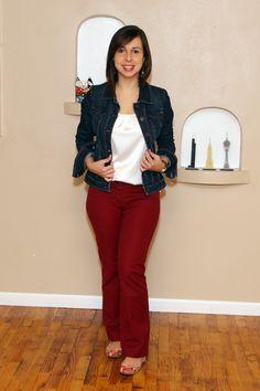Guarda-roupa de trabalho: jaqueta jeans