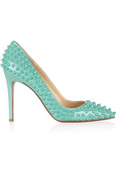 Pigalle Spikes 100 leather pumps
