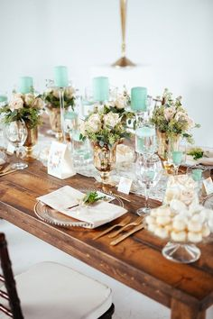 15 Gorgeous Pantone Wedding Ideas That Will Bring ALL the Greenery via Brit + Co