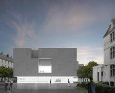 Aires Mateus . B + B Architectes - centre de création contemporaine olivier debré
