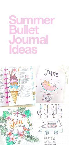 Summer Bullet Journal Ideas | wellella